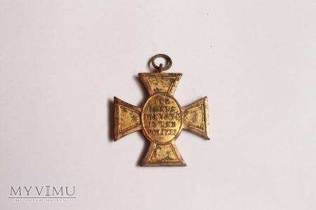 Niemiecki Krzyż policyjny za 25 lat służby