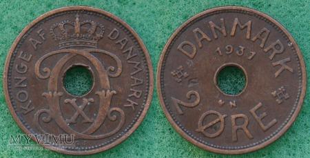 Dania, 2 Øre 1931