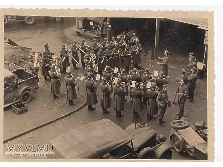 Niemiecka orkiestra wojskowa