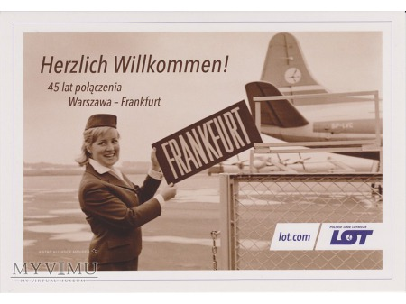 45 lat połączenia Warszawa-Frankfurt