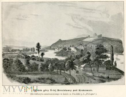 Widok góry św. Bronisławy