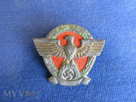 Godło Policji-odznaka KWHW