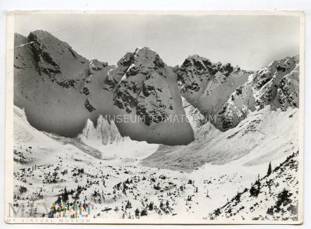 Tatry - Dolina Sucha i Turnia nad nią - 1958