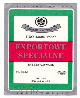 Exportowe specjalne