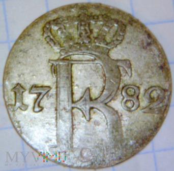 Fryderyk II Wielki 1740-1786-24 część talara 1782A