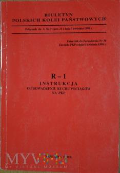 1998 - R1 Instrukcja o prow. ruchu pociągów na PKP