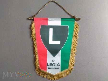 Proporzec Legia Warszawa 2007-2008