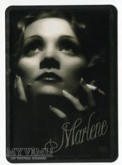 Marlene Dietrich Nostalgic Art Metalowa pocztówka