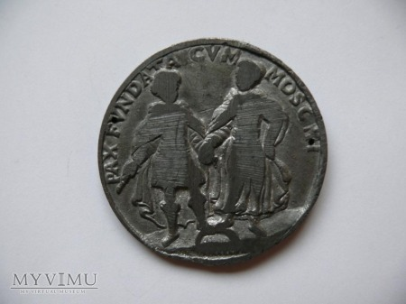 Medal ołowiany Jan III Sobieski