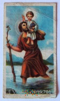 Św. Krzysztof, O. Józef B.M. Paściak