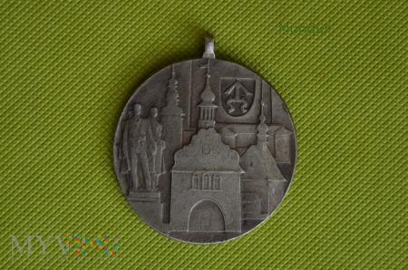 """Medal """"Za zasluhy o rozvoj mesta Bilovce"""""""