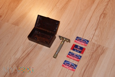 Maszynka do golenia ROTBART - pudełko z bakelitu