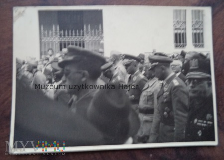 Zdjęcie żołnierzy niemieckich i włoskich
