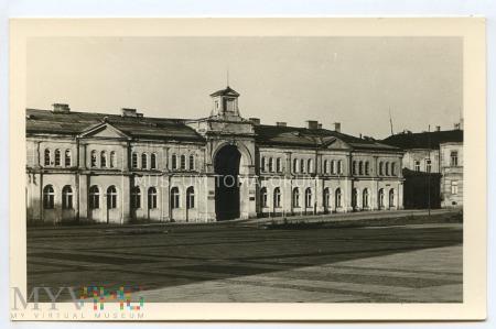 Kielce - Hale targowe - 1956