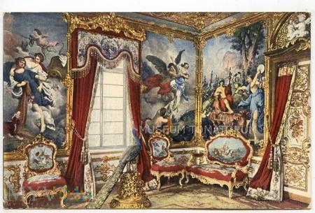 Wnętrze zamkowe- Pałac Linderhof - 1910