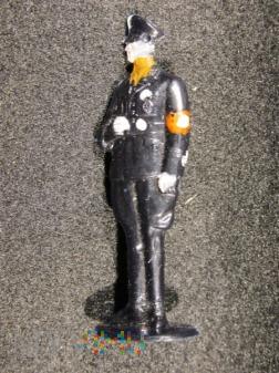 Policja bezpieczeństwa w mundurze SS