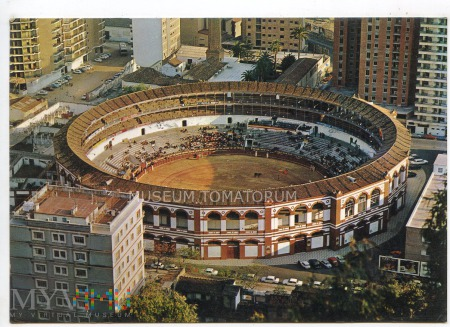 Duże zdjęcie Malaga - corrida de toros - lata 80-te XX w.