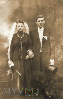 czarny pomysł na ślub