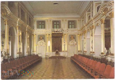 W-wa - Zamek - wnętrza, Sala Senatorska - 1990