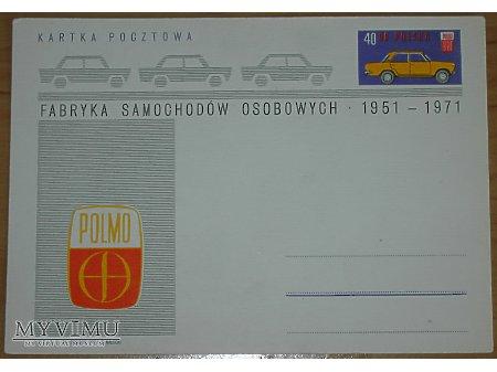 Duże zdjęcie 20-lecie FSO, kartka pocztowa