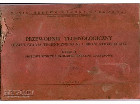 PRZEWODNIK TECHNOLOGICZNY OT-1