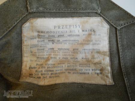 Torba brezentowa na maskęPrzeciwgazową wz. 32