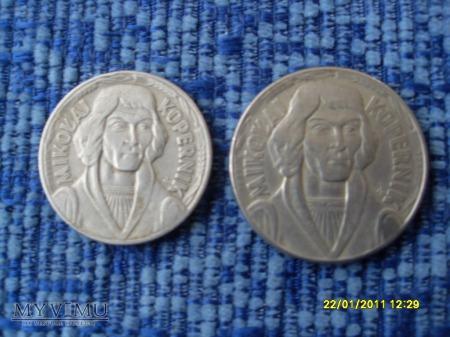 Kopernik-10 zł [małe i duże].
