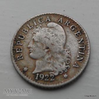 5 Centavos 1922 Argentyna
