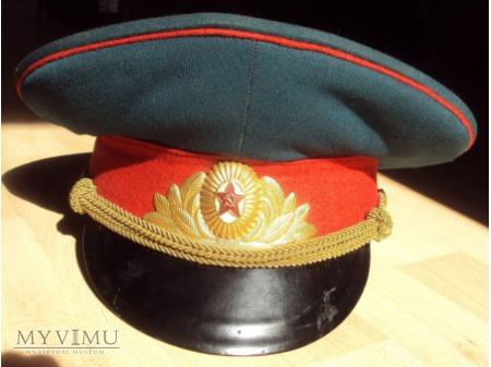 Czapka paradna oficera ZSRR