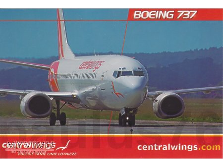 Boeing 737-45D, SP-LLF, Centralwings