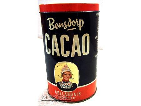 Puszka i kakao - Bensdorp.