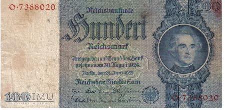 100 marek 1935