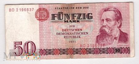 Niemcy, 50 marek 1971