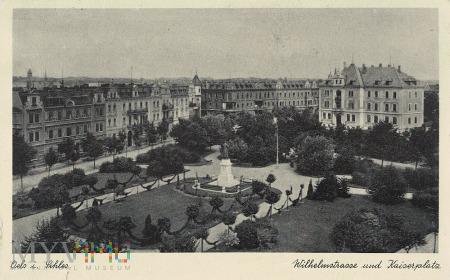 Kaiserplatz und Wilhelmstrasse