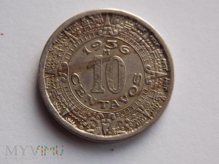 10 CENTAWOS 1936 - MEKSYK