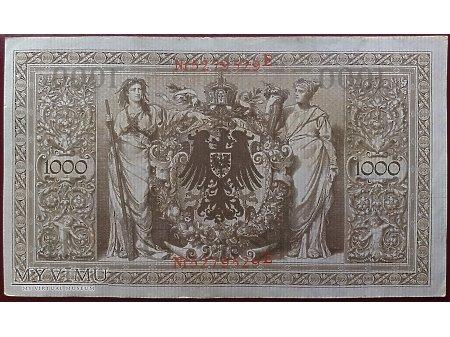 1000 Marek z 1910r. - Niemcy