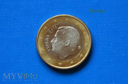 Duże zdjęcie Moneta: 1 euro ESPANA 2016