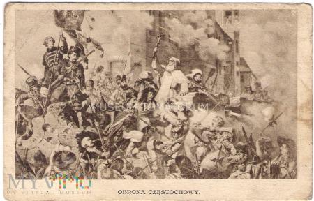 Obrona Częstochowy - lata 20-te XX wieku