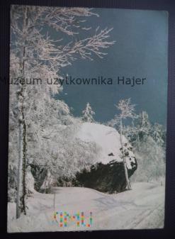 GÓRY STOŁOWE Krajobraz zimowy