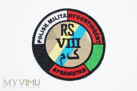 PKW RSM Afganistan VIII zmiana - 34 BKPanc