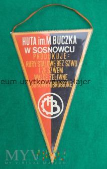 Huta im M. Buczka Sosnowiec - proporczyk