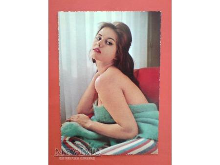 Claudia Cardinale KRUGER Pocztówka Aktorka filmowa