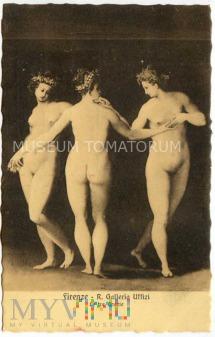 Galeria Uffizi - Trzy Gracje
