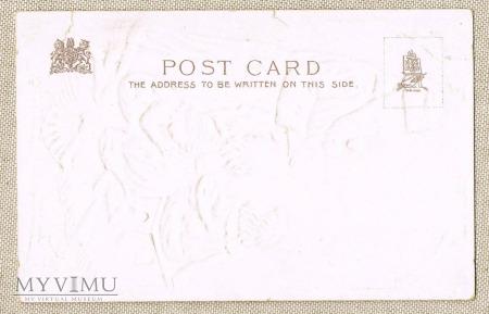 Pocztówka Santa Claus około 1900 roku