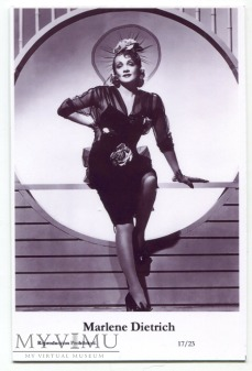 Marlene Dietrich Swiftsure Postcards 17/23