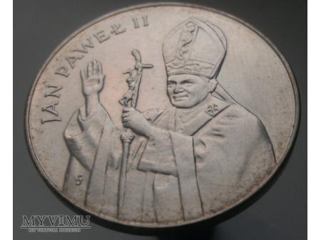 Duże zdjęcie Jan Paweł II, 10 000 zł, 1987 rok.