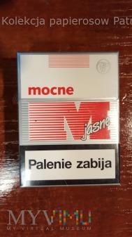 Papierosy MOCNE jasne 20 szt. 2014 r.
