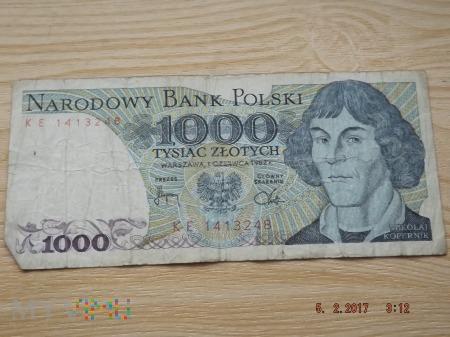 1000 złotych