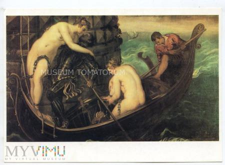 Tintoretto - Oswobodzenie Arsinoe