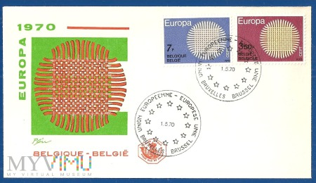 Fdc-Belgia.1970.4